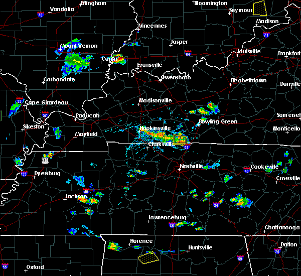Radar Image for Severe Thunderstorms near Adairville, KY at 7/21/2020 5:21 PM CDT