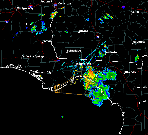 Radar Image for Severe Thunderstorms near Midway, FL at 7/21/2020 6:51 PM EDT