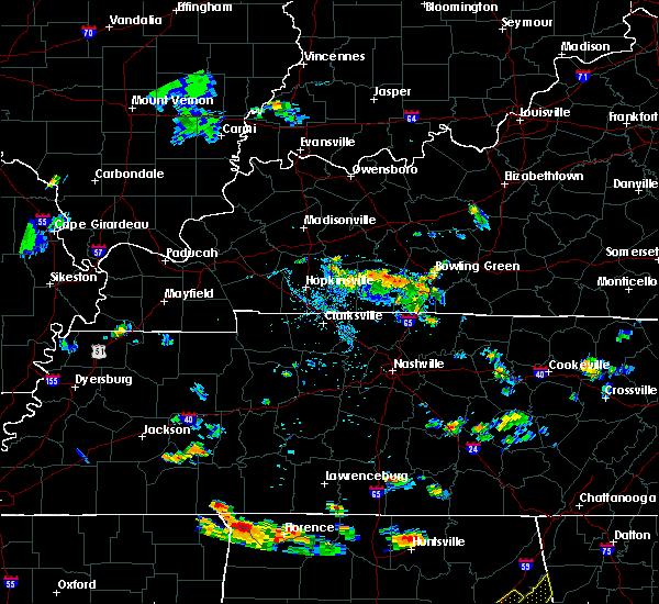 Radar Image for Severe Thunderstorms near Auburn, KY at 7/21/2020 5:57 PM CDT