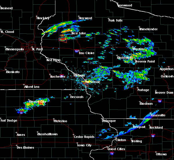 Radar Image for Severe Thunderstorms near Stoddard, WI at 7/21/2020 6:03 PM CDT