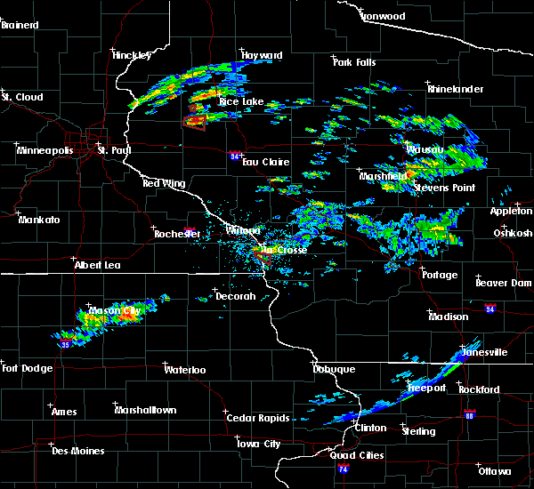 Radar Image for Severe Thunderstorms near Stoddard, WI at 7/21/2020 6:11 PM CDT