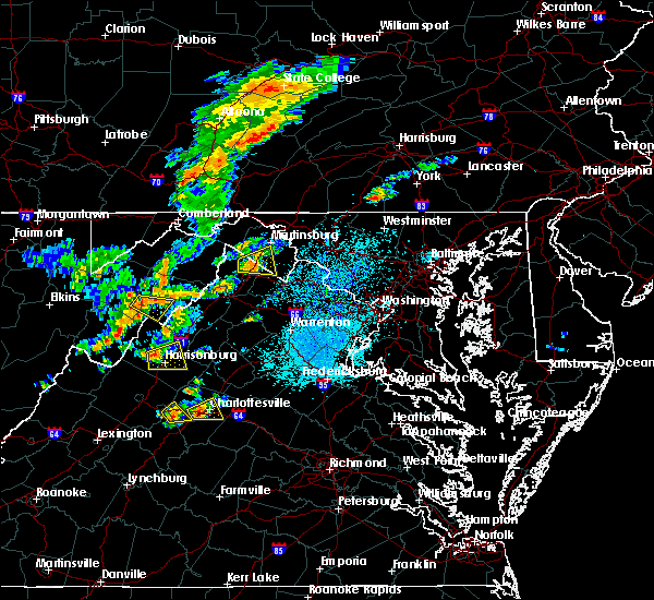 Radar Image for Severe Thunderstorms near Middleway, WV at 7/22/2020 1:15 PM EDT