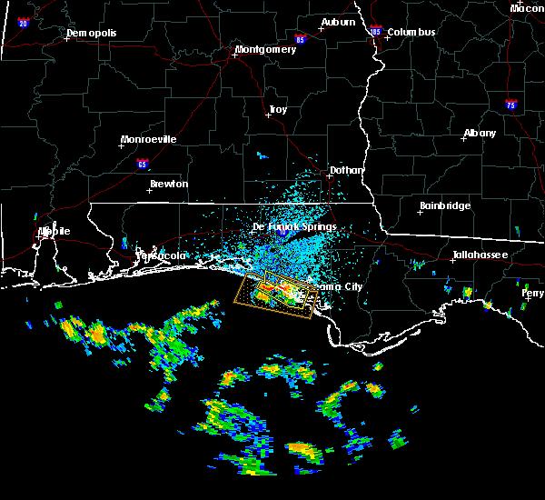 Radar Image for Severe Thunderstorms near Laguna Beach, FL at 7/22/2020 1:18 PM CDT