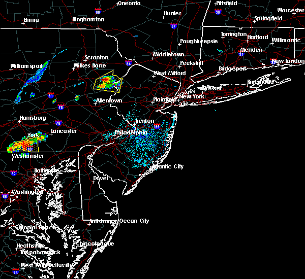 Radar Image for Severe Thunderstorms near Wind Gap, PA at 7/22/2020 2:21 PM EDT