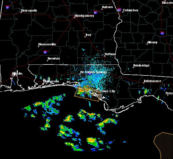 Radar Image for Severe Thunderstorms near Laguna Beach, FL at 7/22/2020 1:38 PM CDT