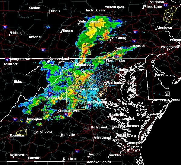 Radar Image for Severe Thunderstorms near University Center, VA at 7/22/2020 2:49 PM EDT