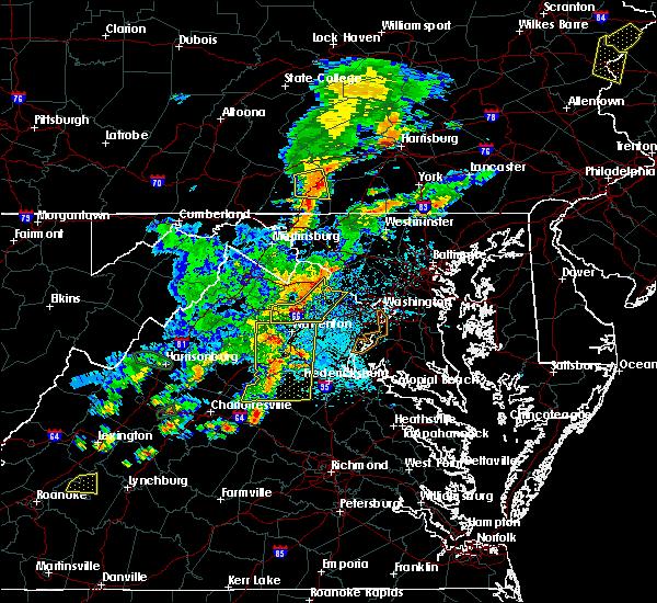 Radar Image for Severe Thunderstorms near Barnesville, MD at 7/22/2020 2:54 PM EDT