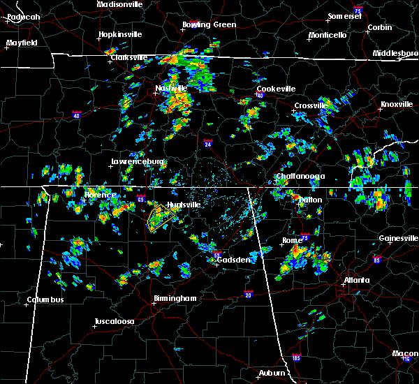 Radar Image for Severe Thunderstorms near Huntsville, AL at 7/22/2020 1:56 PM CDT