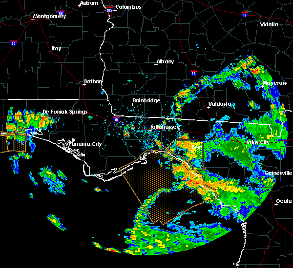Radar Image for Severe Thunderstorms near Midway, FL at 7/22/2020 4:00 PM EDT