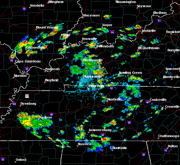 Radar Image for Severe Thunderstorms near Lewisburg, KY at 7/22/2020 3:01 PM CDT