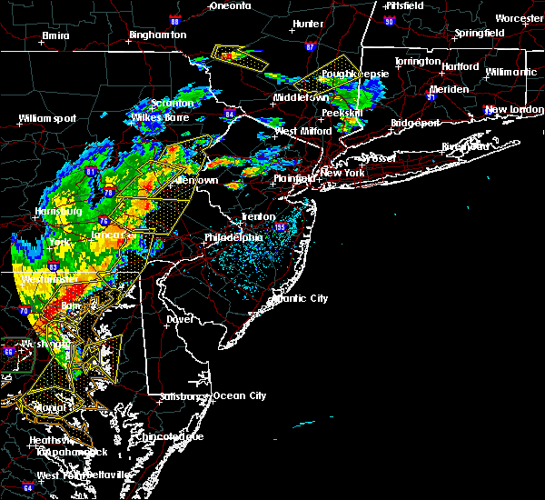 Radar Image for Severe Thunderstorms near Old Orchard, PA at 7/22/2020 4:52 PM EDT