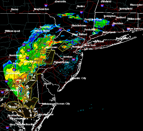 Radar Image for Severe Thunderstorms near Old Orchard, PA at 7/22/2020 5:19 PM EDT