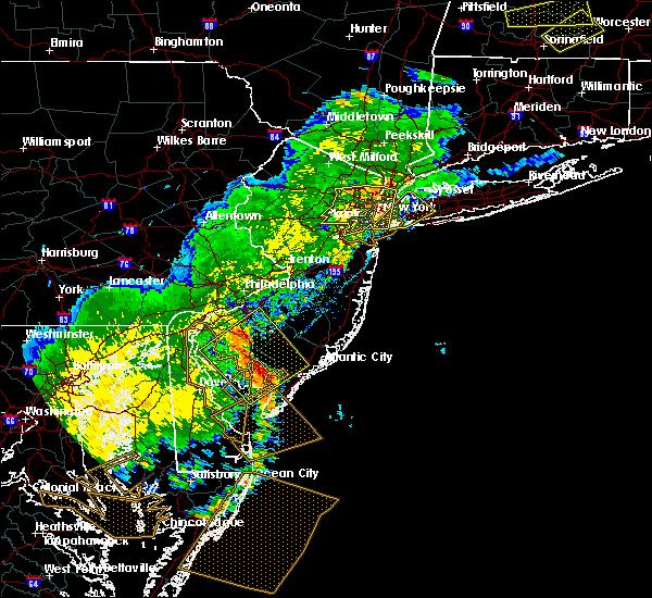 Radar Image for Severe Thunderstorms near Turnersville, NJ at 7/22/2020 7:17 PM EDT