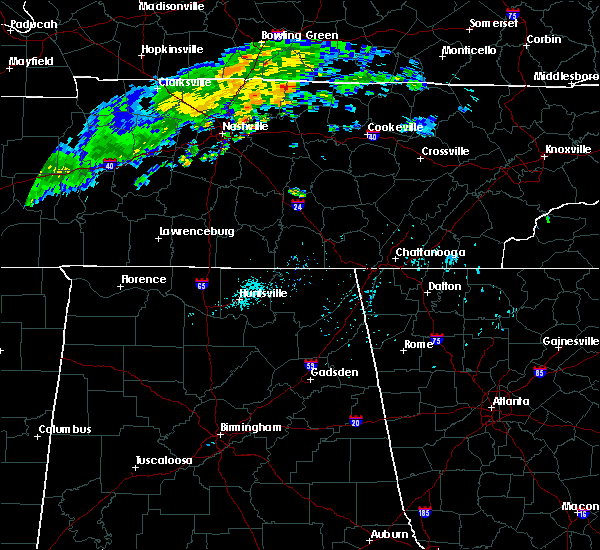 Radar Image for Severe Thunderstorms near Sale Creek, TN at 7/23/2020 12:57 PM EDT