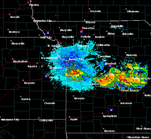 Radar Image for Severe Thunderstorms near Creighton, MO at 7/1/2015 9:42 PM CDT