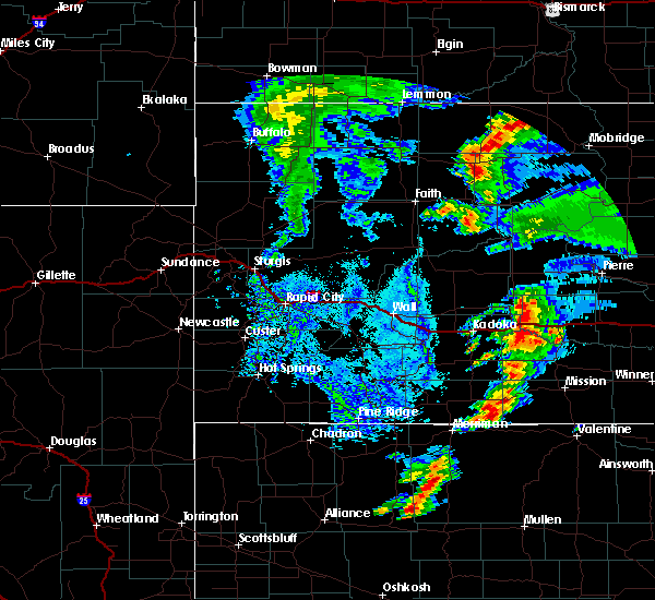 Radar Image for Severe Thunderstorms near Mission, SD at 7/24/2020 5:31 PM CDT