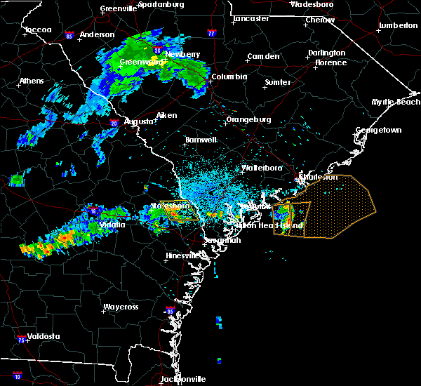Radar Image for Severe Thunderstorms near Guyton, GA at 7/1/2015 10:56 PM EDT