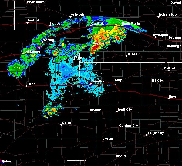 Radar Image for Severe Thunderstorms near Imperial, NE at 7/24/2020 10:22 PM CDT