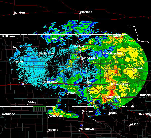Radar Image for Severe Thunderstorms near Battle Lake, MN at 7/25/2020 3:03 AM CDT