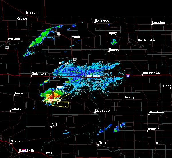 Radar Image for Severe Thunderstorms near Lemmon, SD at 7/25/2020 4:19 PM MDT