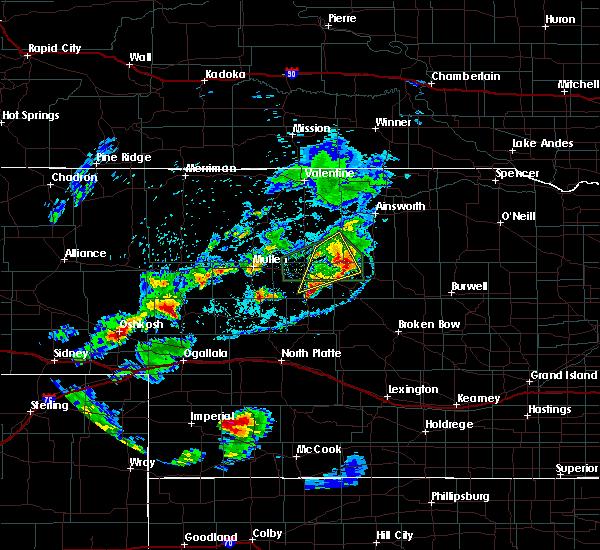 Radar Image for Severe Thunderstorms near Brewster, NE at 7/25/2020 7:17 PM CDT