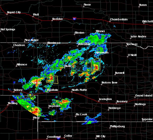 Radar Image for Severe Thunderstorms near Brewster, NE at 7/25/2020 7:53 PM CDT
