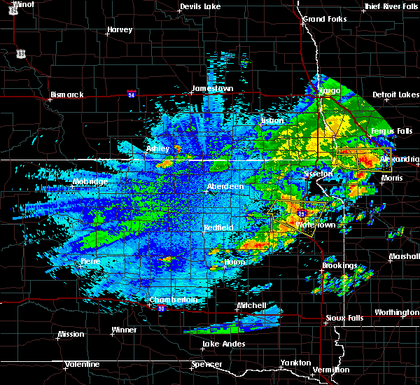 Radar Image for Severe Thunderstorms near Ortley, SD at 7/26/2020 2:17 AM CDT