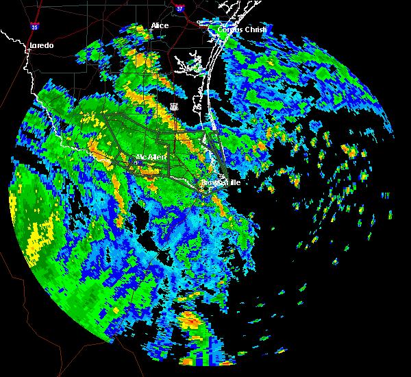 Radar Image for Severe Thunderstorms near San Juan, TX at 7/26/2020 11:28 AM CDT
