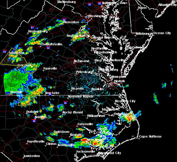Radar Image for Severe Thunderstorms near Thynedale, VA at 7/28/2020 4:27 PM EDT