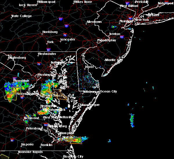 Radar Image for Severe Thunderstorms near Long Beach, MD at 7/28/2020 6:00 PM EDT