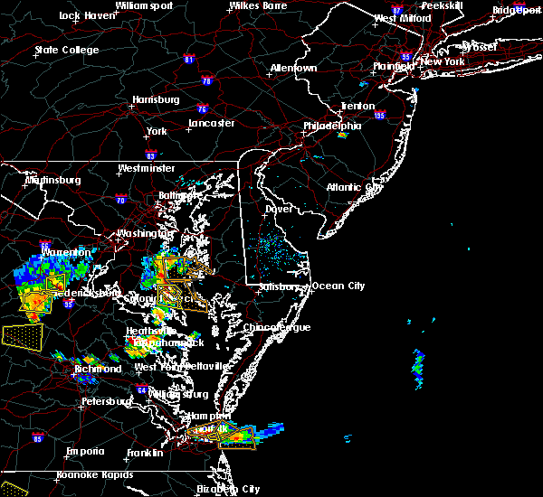 Radar Image for Severe Thunderstorms near Long Beach, MD at 7/28/2020 6:25 PM EDT