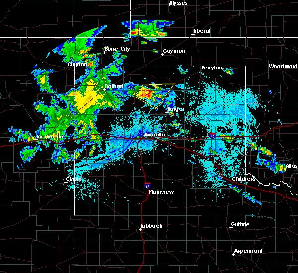 Radar Image for Severe Thunderstorms near Morse, TX at 7/29/2020 2:49 AM CDT
