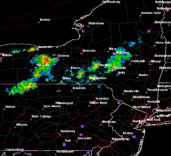 Radar Image for Severe Thunderstorms near Clyde, NY at 7/29/2020 4:23 PM EDT