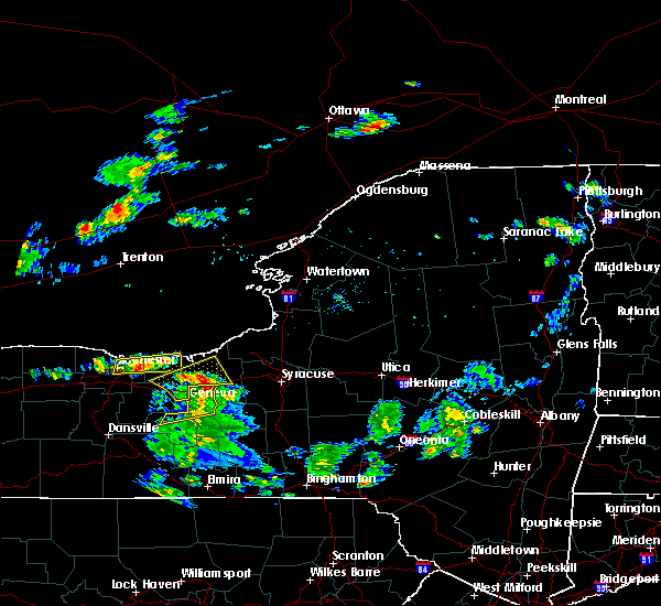 Radar Image for Severe Thunderstorms near Clyde, NY at 7/29/2020 4:59 PM EDT