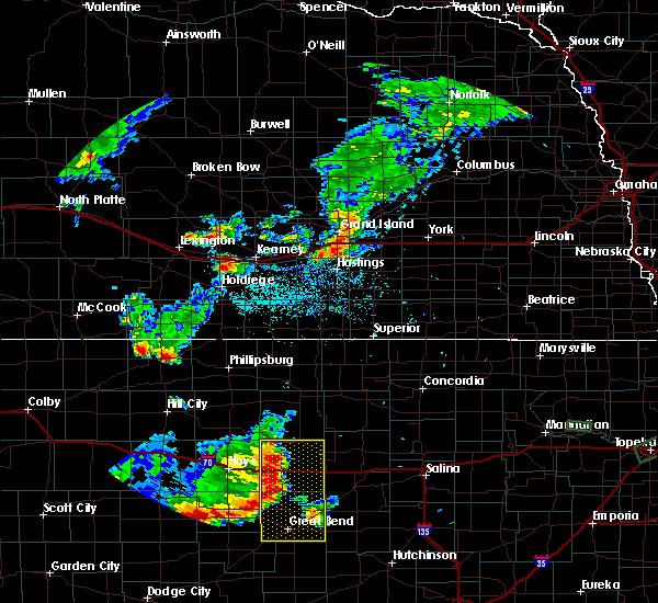 Radar Image for Severe Thunderstorms near Edmond, KS at 7/29/2020 8:07 PM CDT