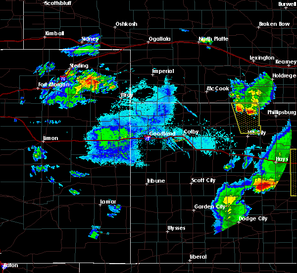 Radar Image for Severe Thunderstorms near Yuma, CO at 7/29/2020 7:10 PM MDT