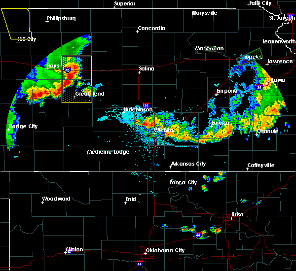 Radar Image for Severe Thunderstorms near Andover, KS at 7/29/2020 8:16 PM CDT
