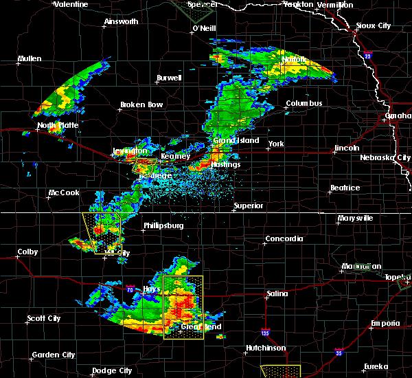 Radar Image for Severe Thunderstorms near Edmond, KS at 7/29/2020 8:30 PM CDT