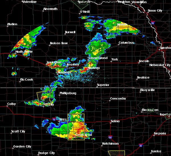 Radar Image for Severe Thunderstorms near Edmond, KS at 7/29/2020 8:42 PM CDT