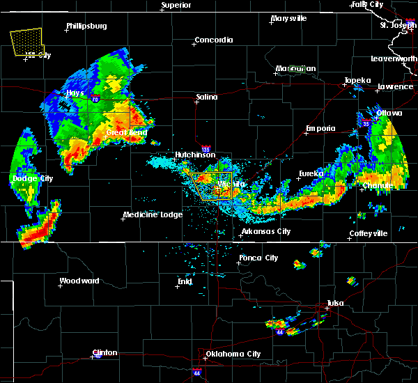 Radar Image for Severe Thunderstorms near Andover, KS at 7/29/2020 8:53 PM CDT