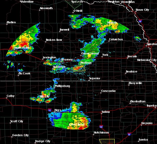 Radar Image for Severe Thunderstorms near Roseland, NE at 7/29/2020 9:12 PM CDT
