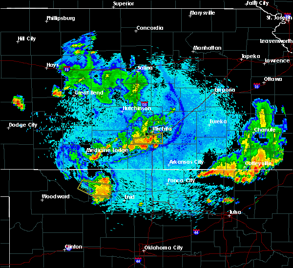 Radar Image for Severe Thunderstorms near Andover, KS at 7/29/2020 11:01 PM CDT