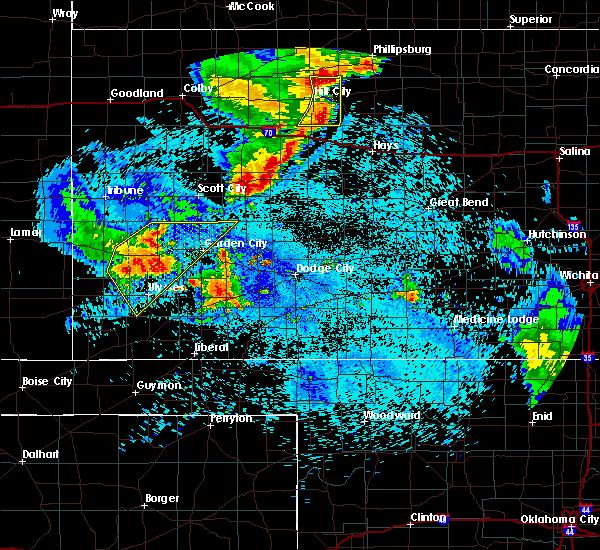 Radar Image for Severe Thunderstorms near Utica, KS at 7/30/2020 12:44 AM CDT