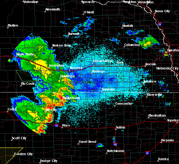 Radar Image for Severe Thunderstorms near Stockton, KS at 7/30/2020 12:44 AM CDT