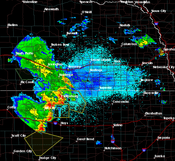 Radar Image for Severe Thunderstorms near Alton, KS at 7/30/2020 12:50 AM CDT