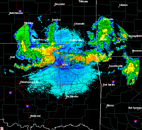 Radar Image for Severe Thunderstorms near Vera, OK at 7/30/2020 1:15 AM CDT