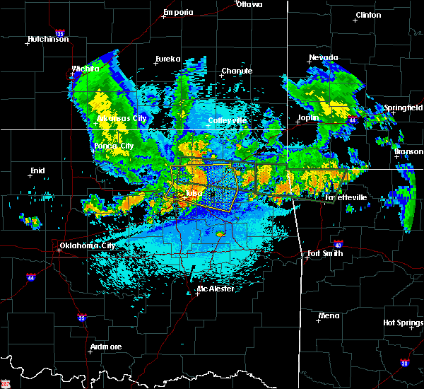 Radar Image for Severe Thunderstorms near Vera, OK at 7/30/2020 1:57 AM CDT