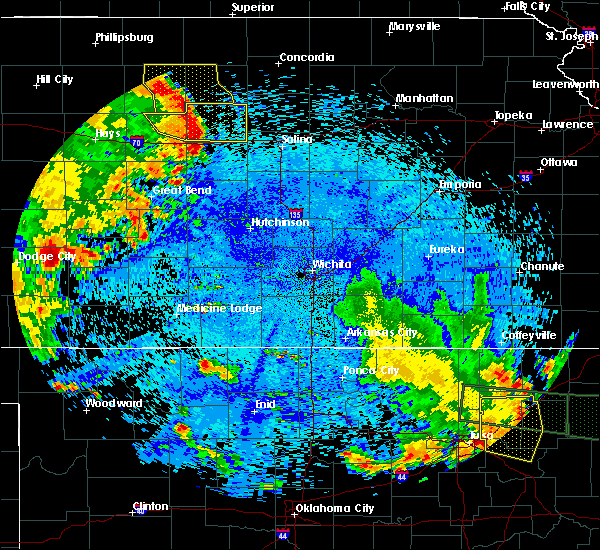 Radar Image for Severe Thunderstorms near Lorraine, KS at 7/30/2020 2:16 AM CDT