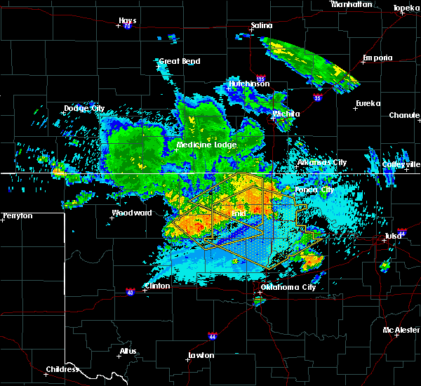 Radar Image for Severe Thunderstorms near Morrison, OK at 7/30/2020 4:59 AM CDT