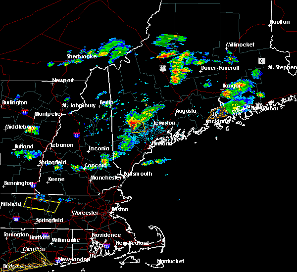 Radar Image for Severe Thunderstorms near Naples, ME at 7/30/2020 4:44 PM EDT